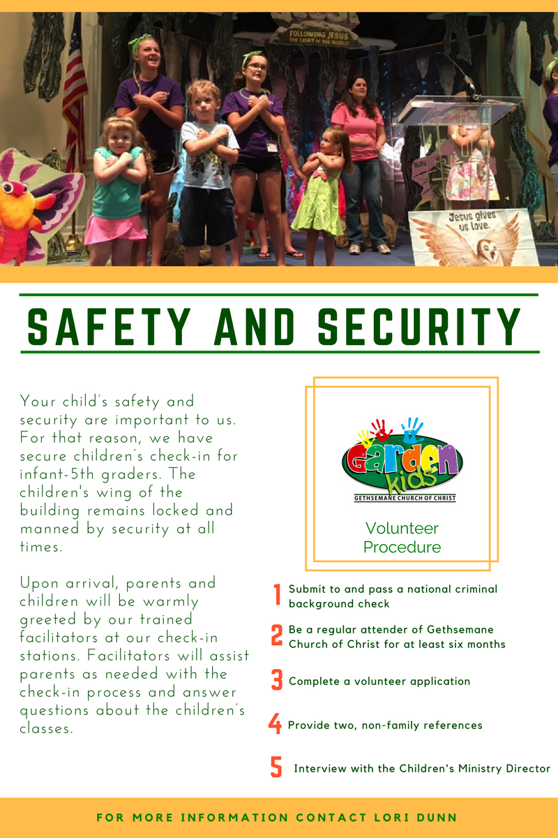 Garden Kids Safety