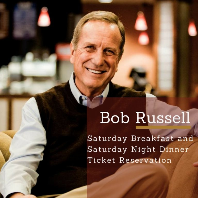 Bob Russell Website Graphic For Dinner and Breakfast