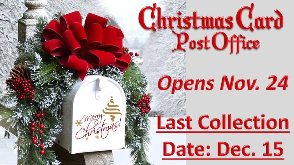 Christmas Card Post Office