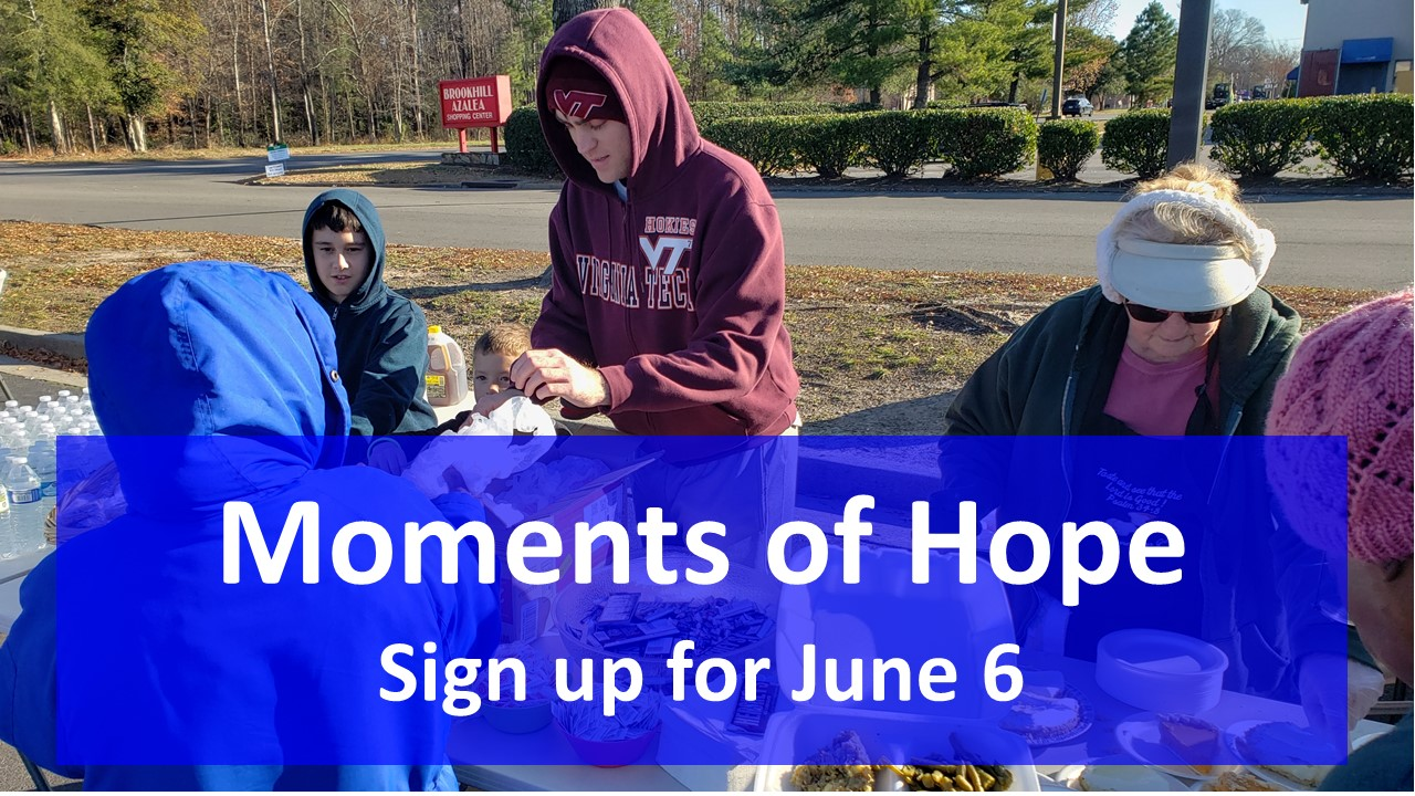 Moments of Hope Outreach Sign Up