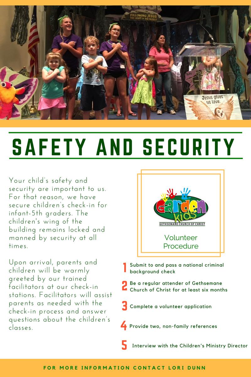 Garden Kids Safety
