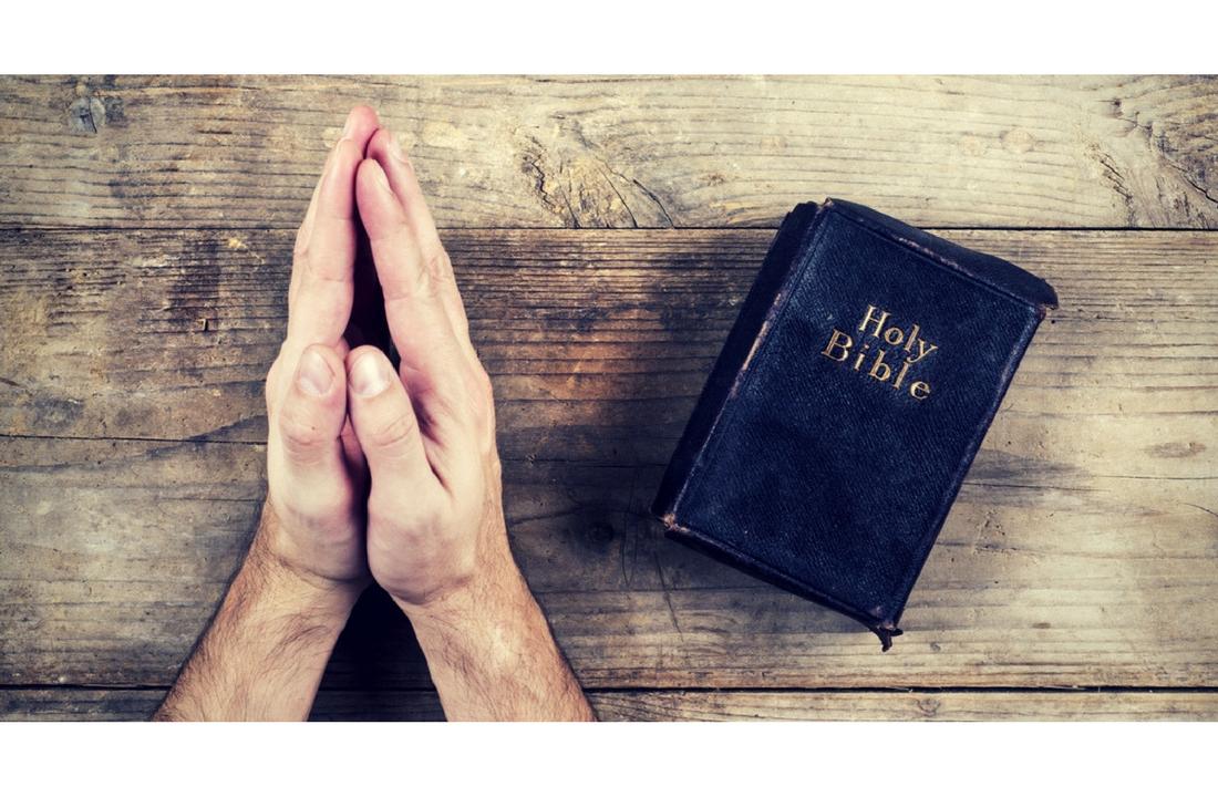 Praying Header