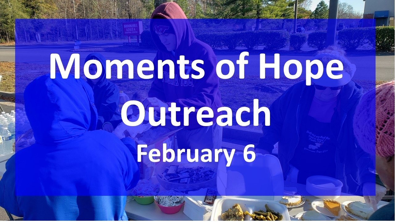 Moments of Hope Serving