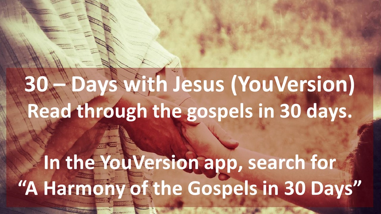 30 - Days With Jesus YouVersion
